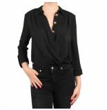 Elisabetta Franchi Moves Body shirt zwart