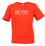 Hugo Boss Junior Tee shirt manches rood