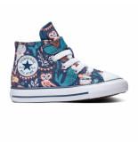 Converse All stars chuck taylor 1v 7673c blauw