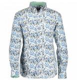 State of Art Poplin overhemd met bloemenprint