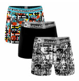 Muchachomalo Boys 3-pack shorts color television