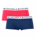 Muchachomalo Ladies 2-pack short solid