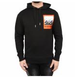 sustain Scribble oversized hoodie