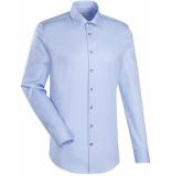 Jacques Britt Heren overhemd licht twill kent custom fit