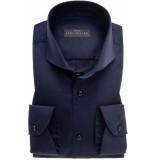 John Miller Heren overhemd cutaway stretch slim fit