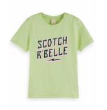 Scotch R'Belle Scotch r'belle t-shirt 155677 geel