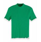 Scotch R'Belle Scotch r'belle t-shirt 155672 groen