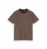 Scotch & Soda T-shirt 155403 0217 cotton elastane crewneck tee-