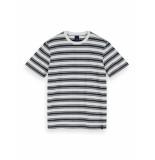 Scotch & Soda T-shirt 155403 0587 cotton elastane crewneck tee -