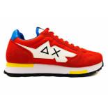 SUN68 Sneakers tom solid multicolor
