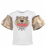 Kenzo Tiger jg 4 tee shirt wit