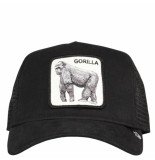 Goorin Bros. King of the jungle cap zwart