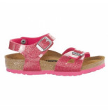 Birkenstock Sandaal rio bf kids magic galaxy bright rose roze