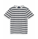 Scotch & Soda T-shirt 155403 blauw
