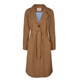 MOSS COPENHAGEN Angela trench coat camel