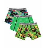 Vingino Ondergoed short 3-pack groen