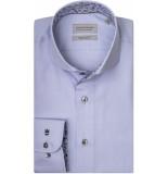 Thomas Maine Heren overhemd bari licht cutaway tailored fit blauw