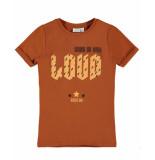 Name It T-shirt 13182906 nkfdroke bruin