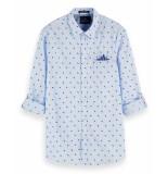 Scotch & Soda T-shirt 155163 wit
