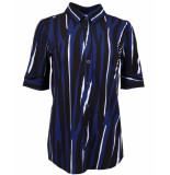 Zip73 Blouse 505-11 blauw