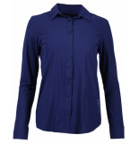 Zip73 Blouse 435-11 blauw
