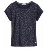 Sandwich T-shirt 21101810 blauw