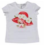 Monnalisa T-shirt st. bambina wit