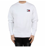 Tommy Hilfiger Tjm tommy badge crew wit
