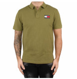Tommy Hilfiger Tjm tommy badge polo groen
