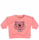 Kenzo Tiger bg 1 sweat roze