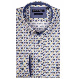 Giordano Ls button down 107013/20 geel