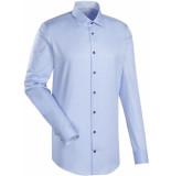 Jacques Britt Heren overhemd como licht stippen boord twill custom fit