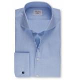 Stenströms Heren overhemd shirt jacquard oxford cutaway slimline
