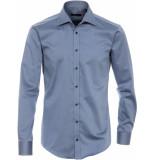 Venti Heren overhemd twill non iron combi manchet modern fit