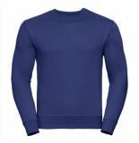 Russell Athletic Heren sweatshirt ronde hals regular fit blauw