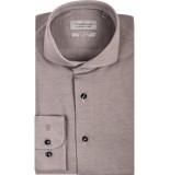 Thomas Maine Heren overhemd bari pique cutaway tailored fit beige