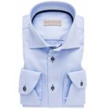 John Miller Heren overhemd licht contrast twill widespread tailored fit