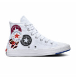 Converse All stars chuck taylor 166735c / blauw / rood wit
