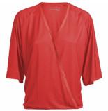 Summum 3s4385-30127 538 top wrap short slv lyocell raspberry