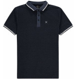 Kultivate Polo nippon insignia blue blauw