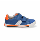 Braqeez Dani day jongens sneakers blauw