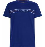 Tommy Hilfiger Corp hilfiger tee mw0mw13328/c7d blauw
