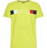 Tommy Hilfiger Rwb stripe tee mw0mw13330/lre geel