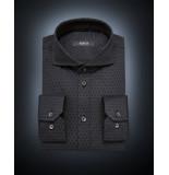 Desoto Luxury line heren overhemd cirkels cutaway jersey slim fit