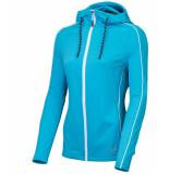 Sjeng Sports Ss lady fullzip hoodie vera vera-a248 blauw
