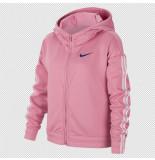 Nike Girls full-zip training hoodi bv2792-693 rood