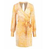 Nikkie Jurk n5-015 rana dress geel