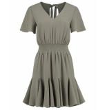 Nikkie Jurk n5-047 romy dress khaki