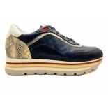 Piedi Nudi Sneakers blauw