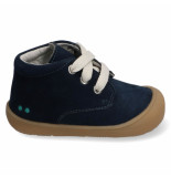 Bunnies Jr. Rene rap jongens veterschoenen blauw